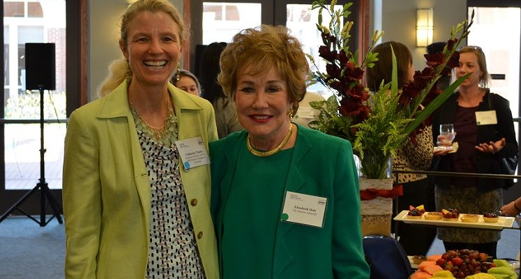 US Senator (retired) Elizabeth Dole and GUWLI Executive Director Catherine Tinsley