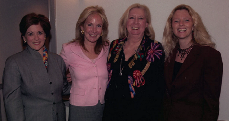 Suzanne Clark, CEO Potomac Research Group; Nancy Evans, Co-Founder of iVillage; and Jane Friedman, CEO and Co-Founder of Open Road Integrated Media